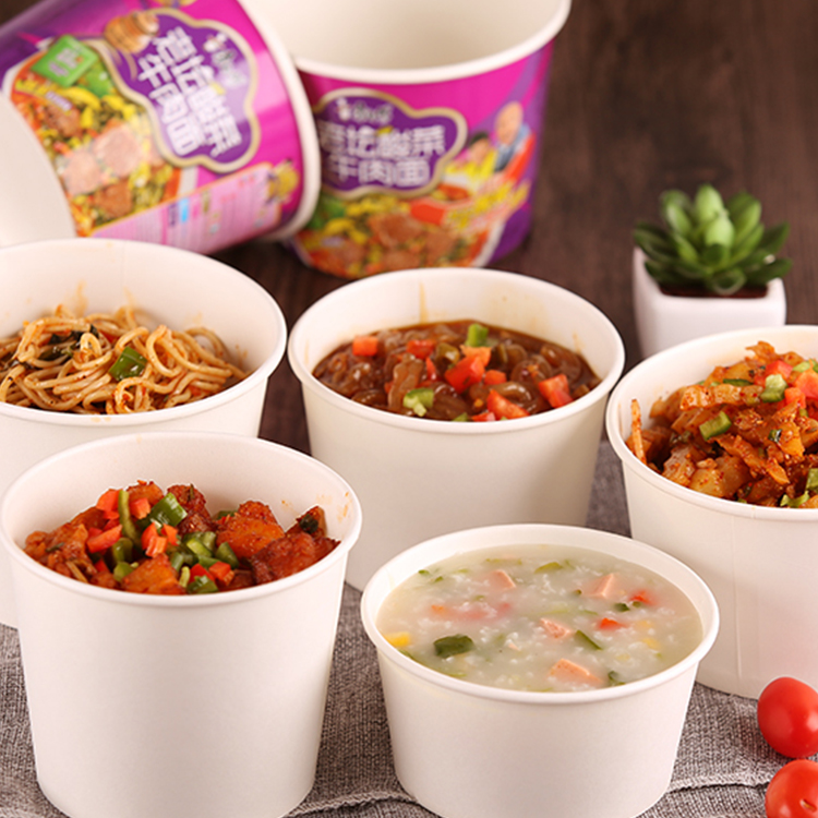 5oz Disposable Takeaway Paper Bowl for Snack Packaging