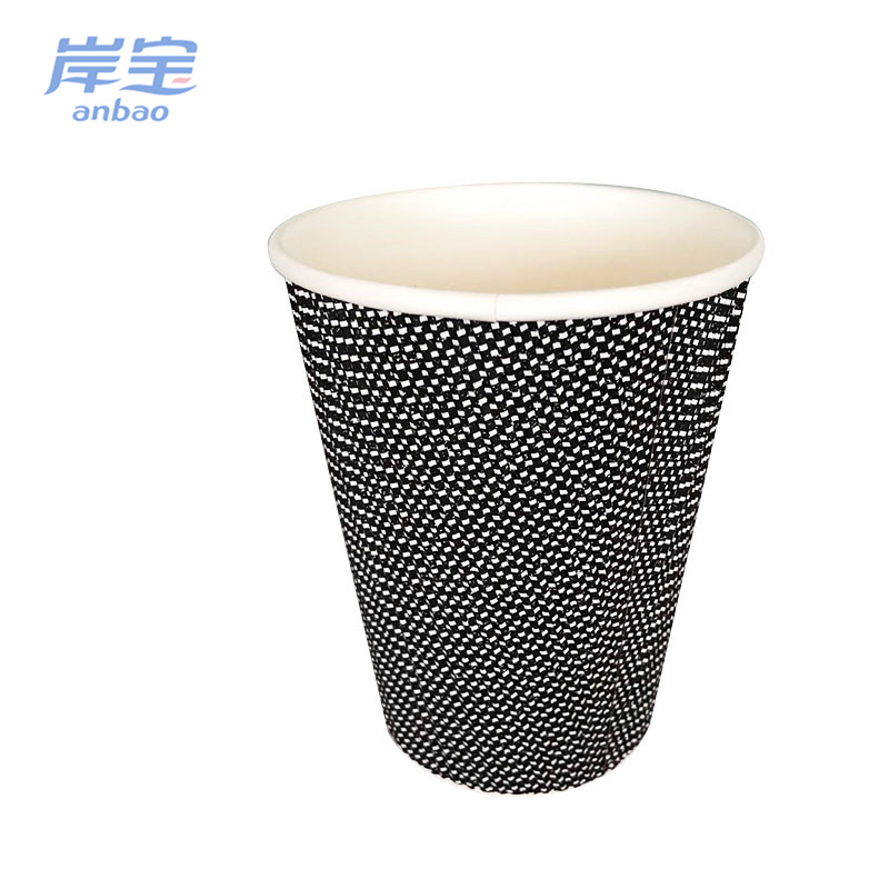 hot selling ripple skillful manufacture pe coated cup stock paper