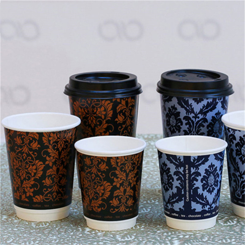 3 oz small mini tasting disposable single wall coffee drink paper cup