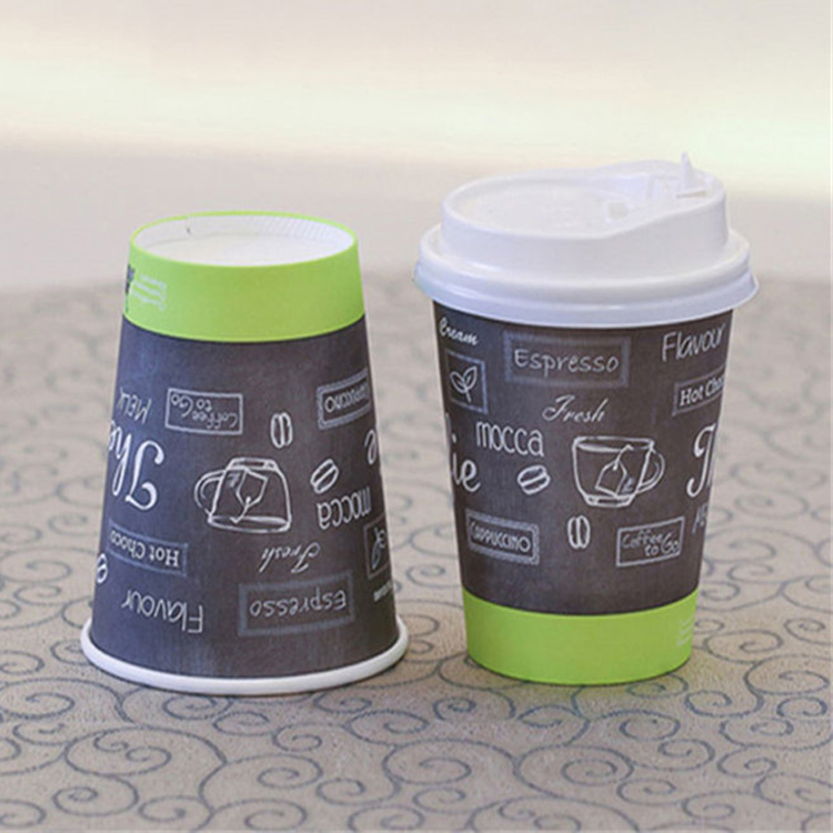 China Manufacturers Wholesale 2.5 oz-20 oz Good Quality Color Changing Paper Cup