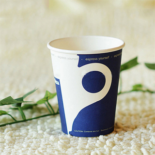 solid reputation paper tea cup with lids single wall disposable