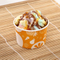 Eco-Friendly customise logo Frozen Yogurt ice cream cup With Lid
