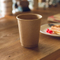 100% Biodegradable Eco Friendly Kraft Holder Double Wall Coffee Paper Cup