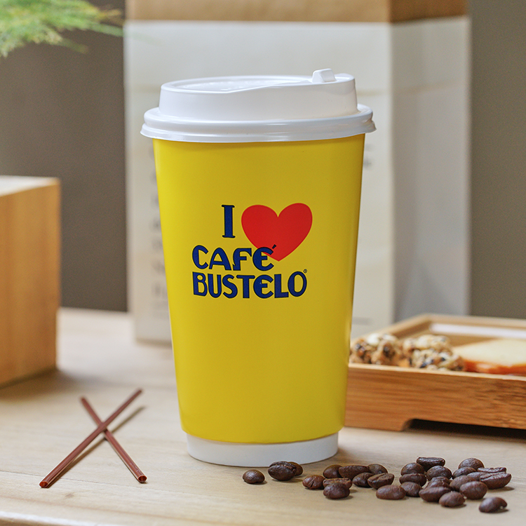 Custom Printed 8oz 9 oz 10oz Personalised Disposable Coffee Cups with Lids