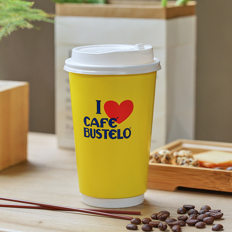 High Quality Double Wall 10oz Take Away Coffee Cups Personalised Paper Coffee Cups