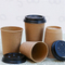 cheap wholesale convenient dexterous kraft personalised takeaway coffee cups