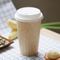 Graceful Design Single Wall Disposable Paper Coffee Carton Cup With Lids