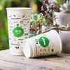 Plastic free Paper Cup Single Wall Paper Home compost