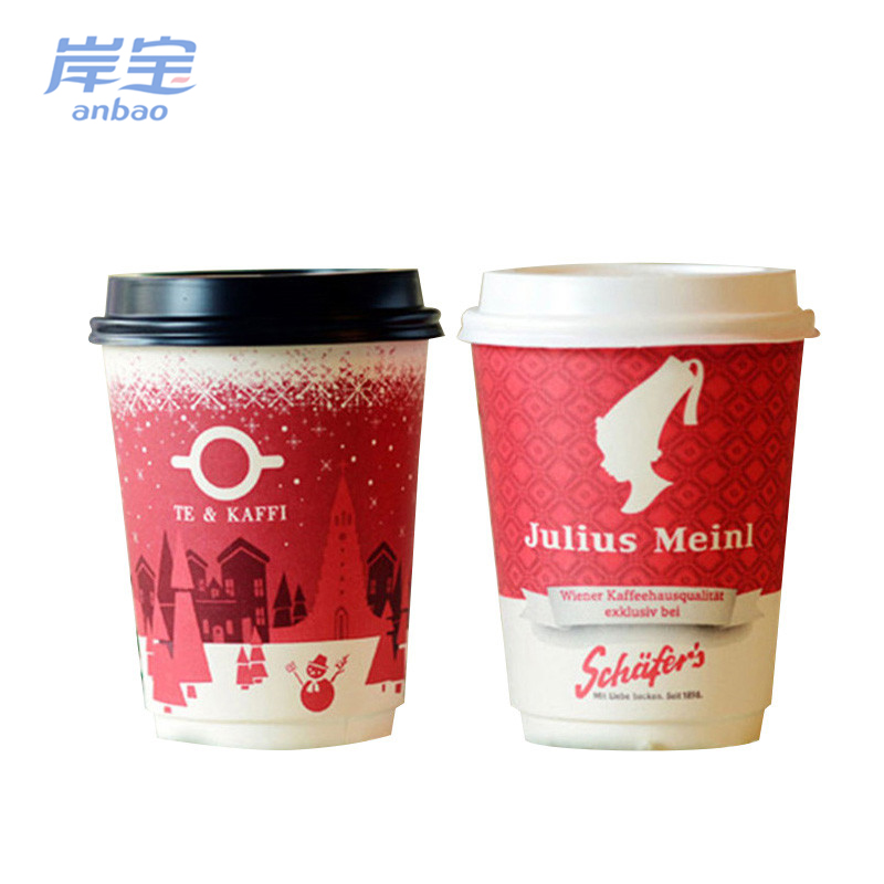 china manufacturers wholesale good quality coated handle paper cups