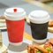 Take Away Paper Ripple Wrap Hot Cups for TEA