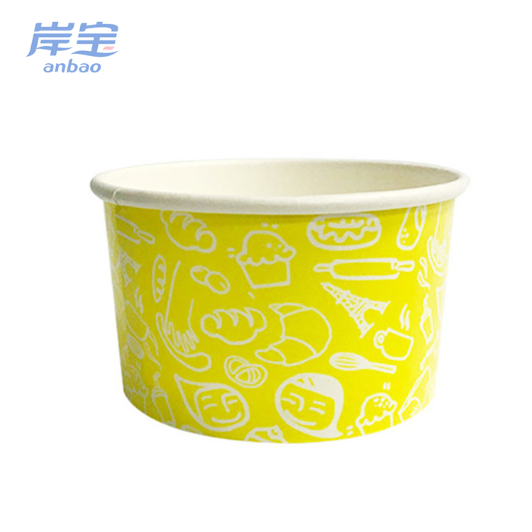 disposable noodle soup or salad paper cups/bowl