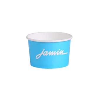 Eco-Friendly Customized Frozen Yogurt ice cream paper bowl With Lid