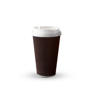High Quality Double Wall Ripple Wall Coffee Paper Cup