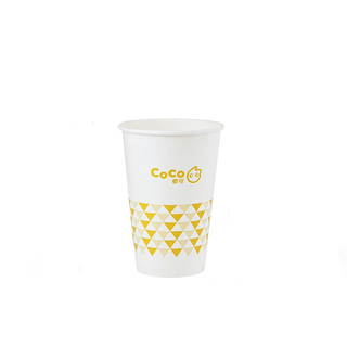 Disposable 16oz 22oz Cold Soda Drink Paper Cup